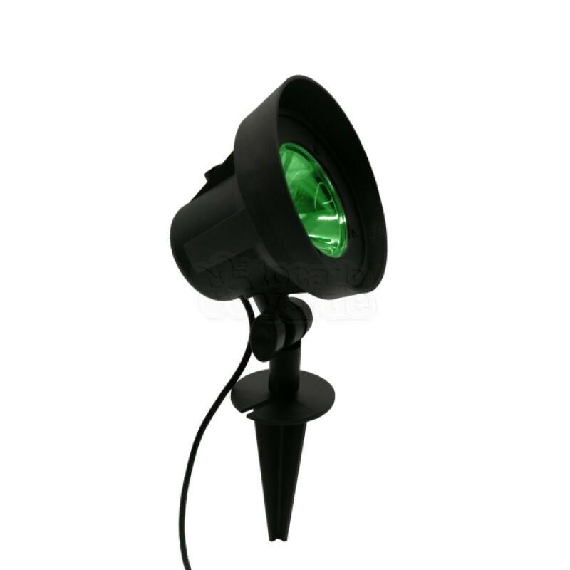 Espeto de Jardim LED 3,5w - 300 Lúmens - Luz Verde - Bivolt - 17196 - Ecoforce