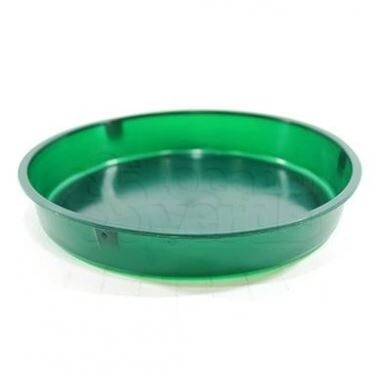 Base Plástica para Espuma Floral T-02 - 21,5x3,5x19 cm - Verde