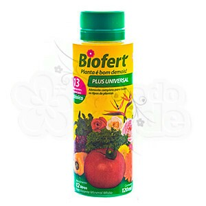Biofert Plus Universal Concentrado 120 ml