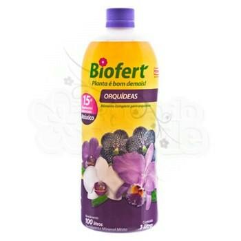Biofert Orquídeas - Concentrado - 1 Litro