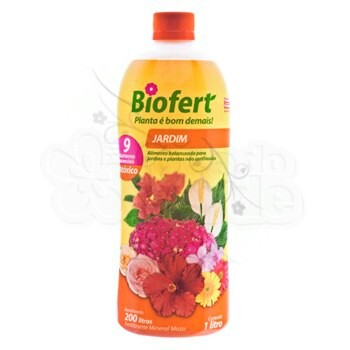 Biofert - Jardim - Concentrado - 1 Litro