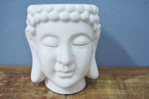 Cachepô Budhas Head