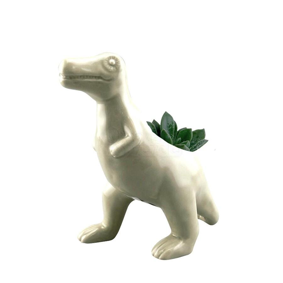Cachepô Animals Allosaurus Rex em Cerâmica