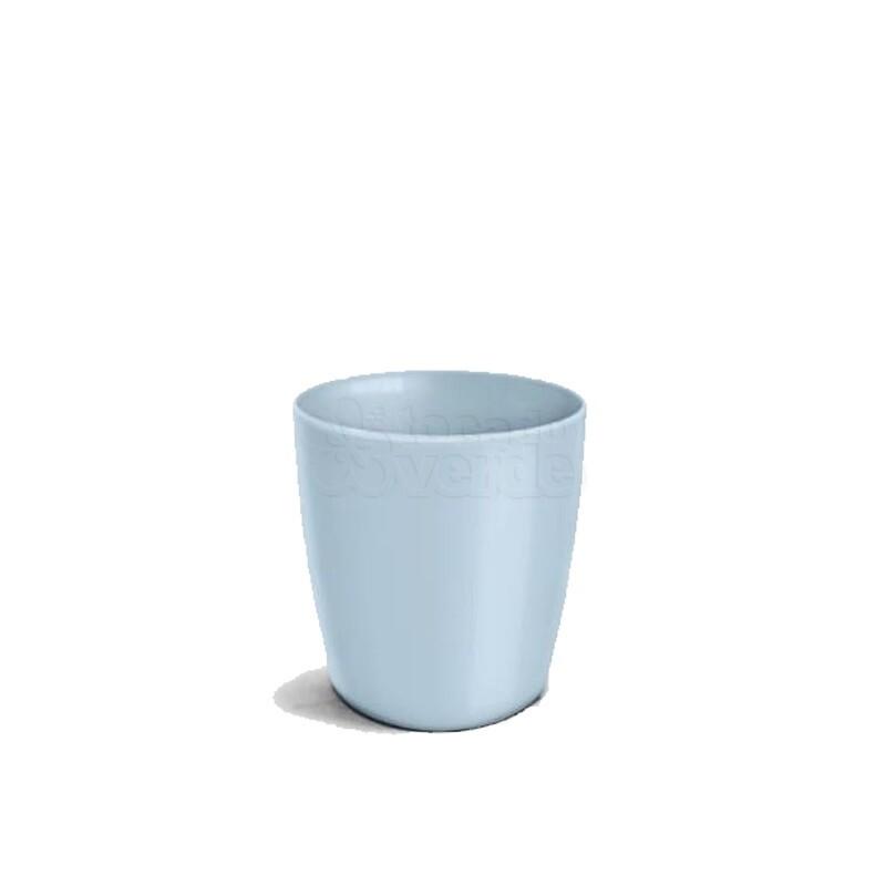 Cachepô Redondo Elegance N03,5 - 2 L - Cor Azul Bebê