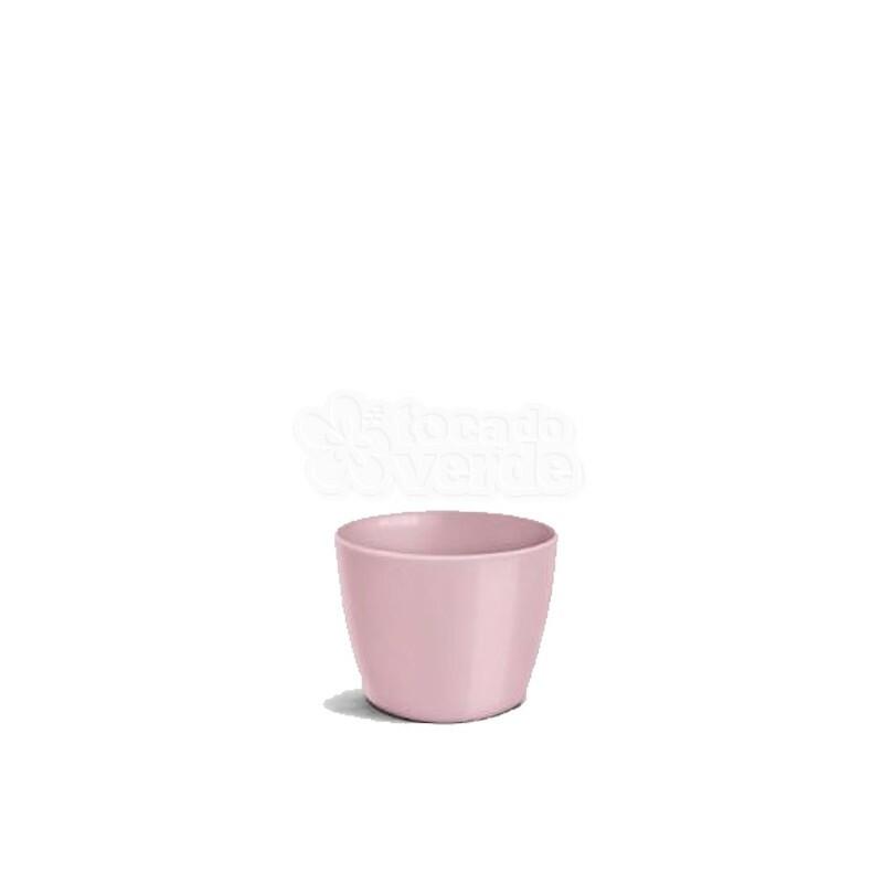 Cachepô Redondo Elegance N01 - 0,6 L - Cor Rosê