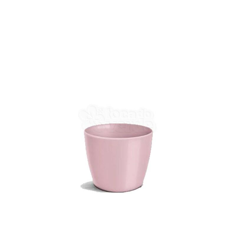 Cachepô Redondo Elegance N02 - 1 L - Cor Rosê