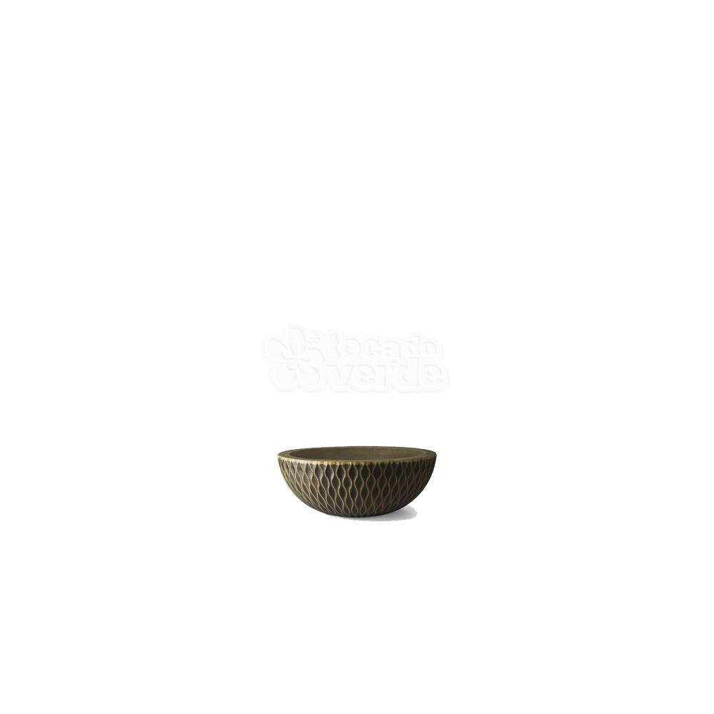 Vaso Infinity Concha N09 - 9x24,7 cm - 2 L - Cor Envelhecido