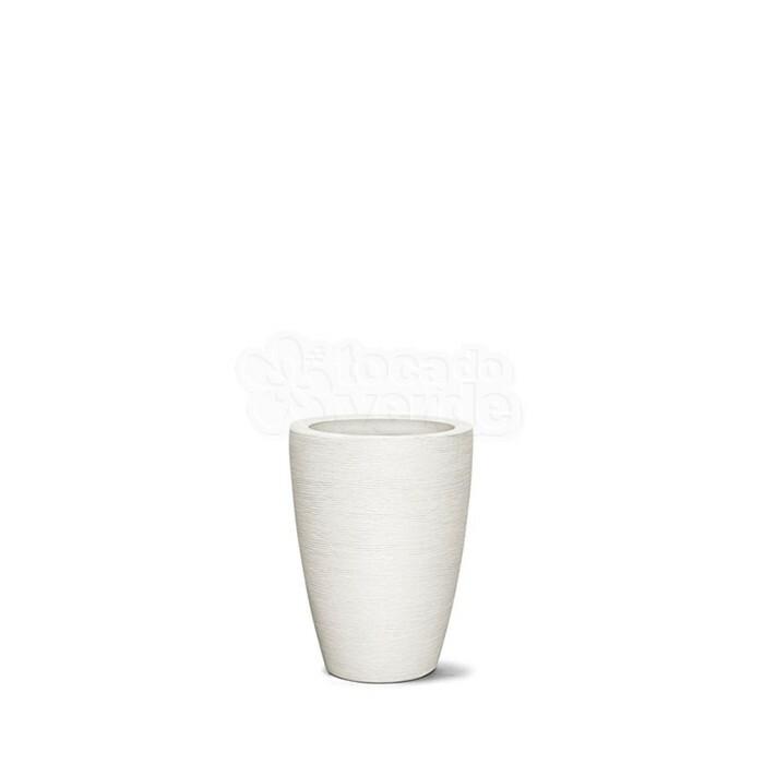 Vaso Cônico Grafiato N38 Branco