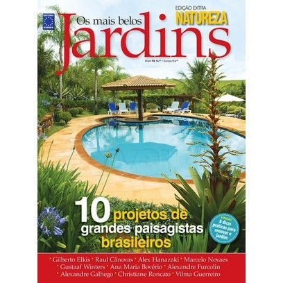 Revista Natureza - Os mais Belos Jardins