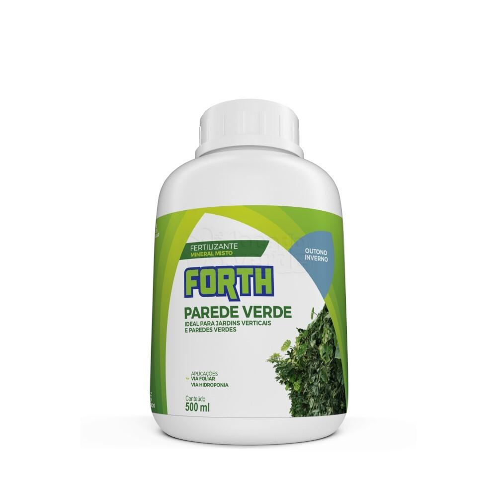 Forth Parede Verde Outono/Inverno - Fertilizante - Concentrado - 500ml