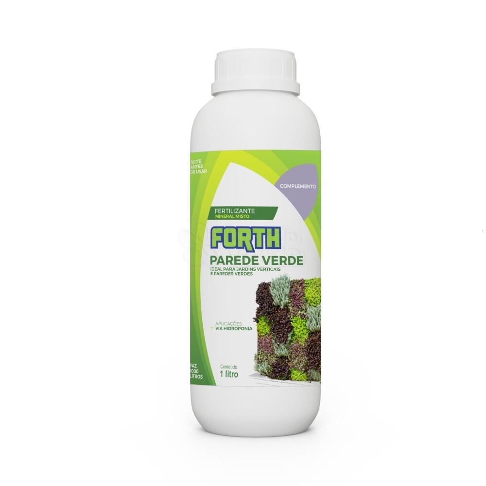 Forth Parede Verde Complemento - Fertilizante - Concentrado - 1 Litro