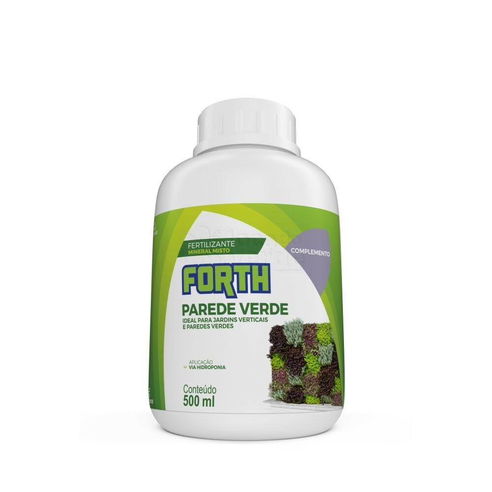 Forth Parede Verde Complemento - Fertilizante - Concentrado - 500ml