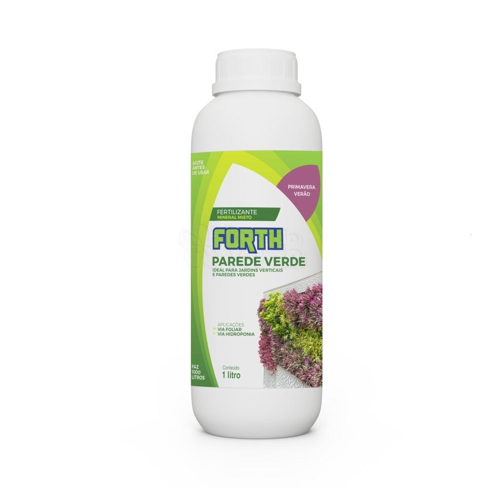 Forth Parede Verde Primavera/Verão- Fertilizante Concentrado - 1 Litro