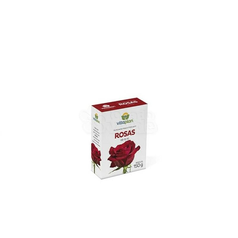 Fertilizante Rosas (NPK 08-12-10) - 150g