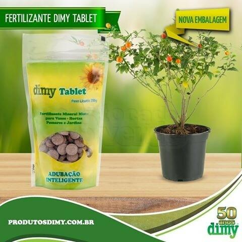 Fertilizante Mineral - Dimy Tablet - 250g