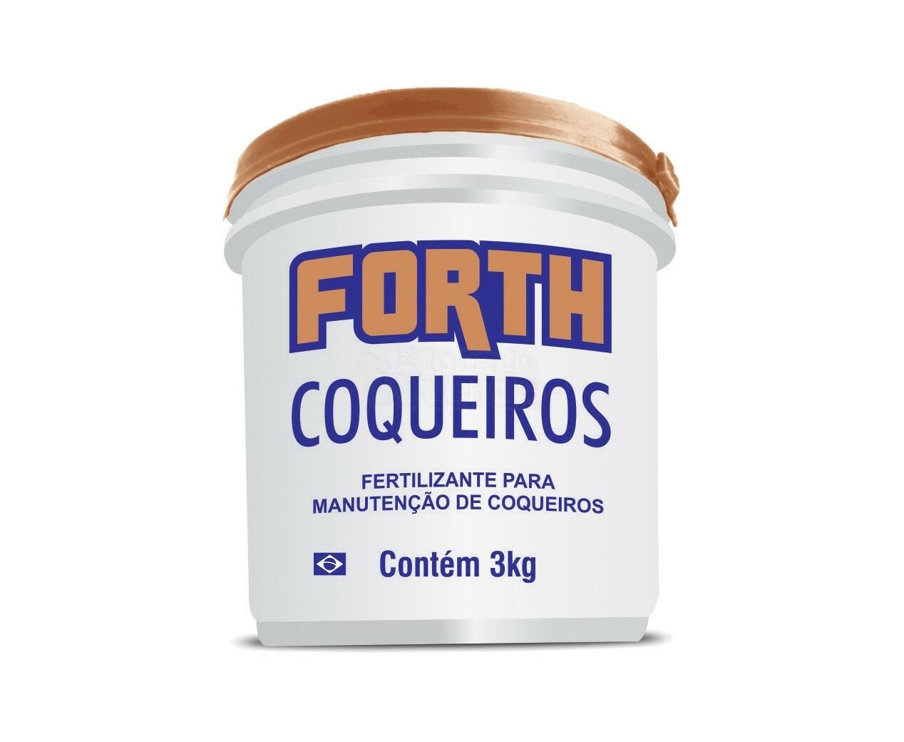 Fertilizante para Coqueiros - Forth Coqueiros 3 kg
