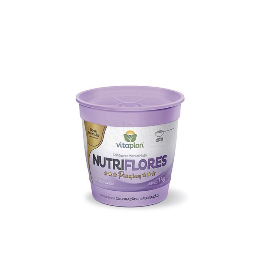 Fertilizante Nutriflores 1kg (NPK 06-12-06)