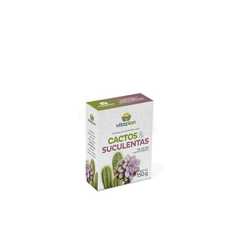 Fertilizante Para Cactos e Suculentas - 150g