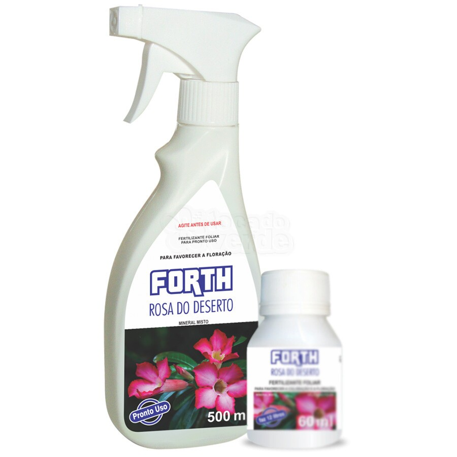 Forth Rosa do Deserto - Fertilizante - Pronto Uso - 500 ml