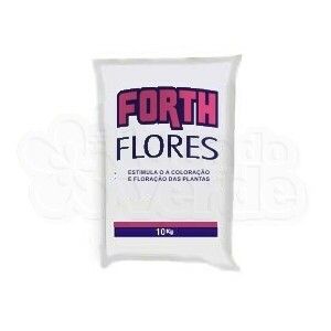 Forth Flores Fertilizante NPK 06-18-12 + 9 Nutrientes - 10kg