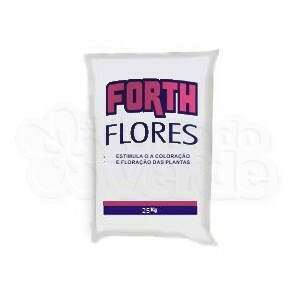 Forth Flores  Fertilizante NPK 06-18-12 + 9 Nutrientes - 25kg