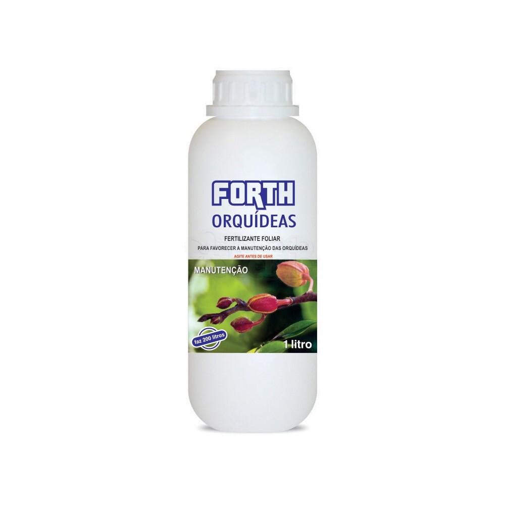 Forth Orquídeas Manutenção - Fertilizante - Concentrado - 1 Litro