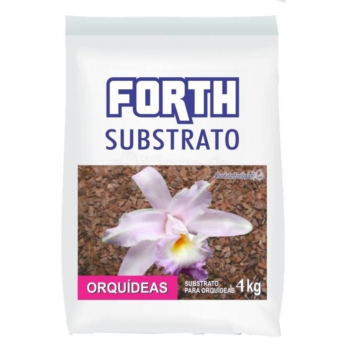 Forth Substrato Para Orquídeas - 4kg