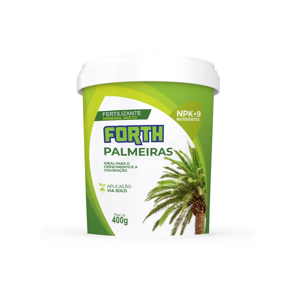 Forth Palmeiras - Fertilizante - 400g (Fertilizantes)