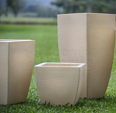 Vaso Trapézio Grafiato - 25,5x25,5 cm - 11L - RM0303PP - Diversas Cores - Rotogarden