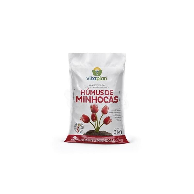 Húmus de Minhocas - 2kg Vitaplan
