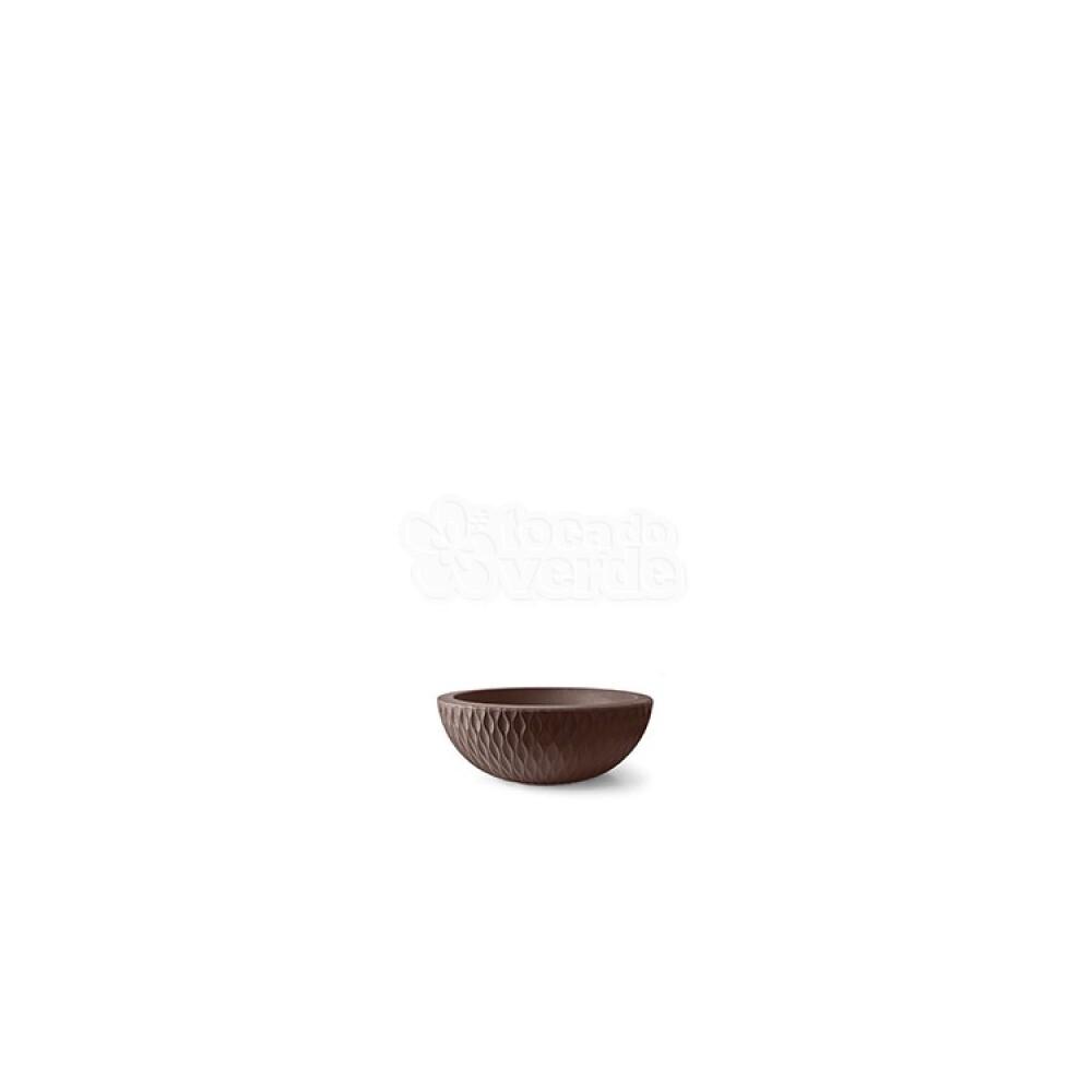 Vaso Infinity Concha N09 - 9x24,7 cm - 2 L - Tabaco