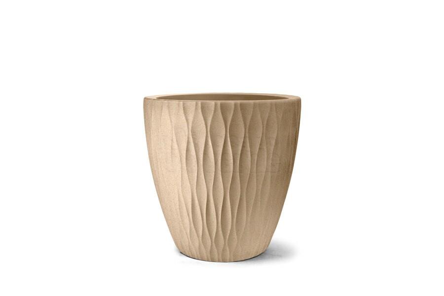 Vaso Infinity Redondo N65 - 65x65 cm - 160 L - Areia