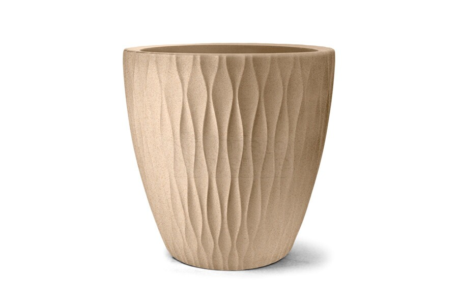 Vaso Infinity Redondo N85 - 85x85 cm - 400 L - Areia