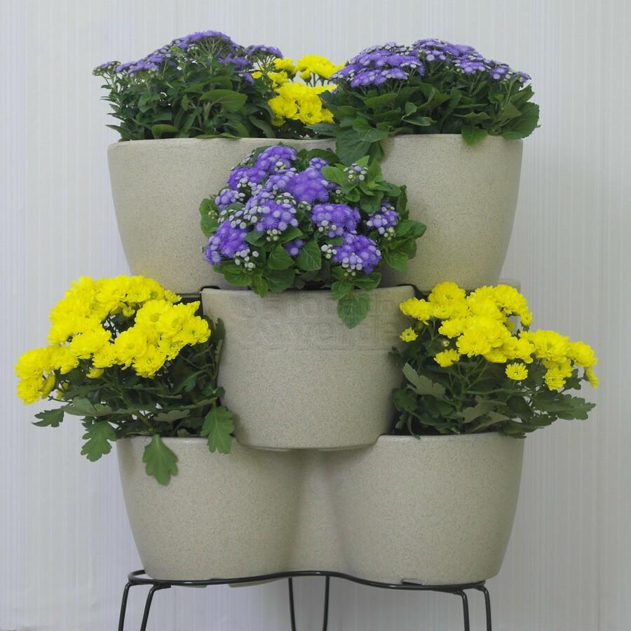 Jardineira Vertical - Horta Vertical  com suporte - Areia - Vasart