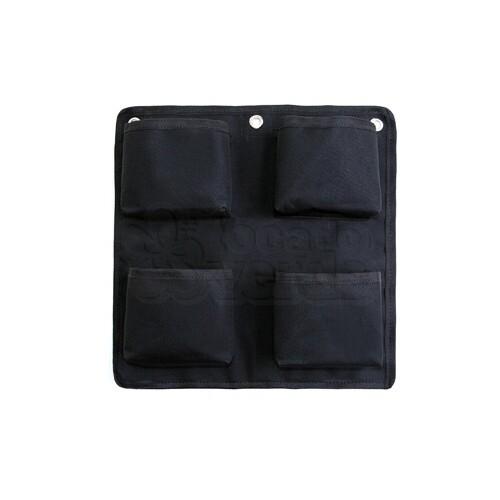Painel Jardim Vertical - Poliéster - Quadrado - 4 bolsos - Q4