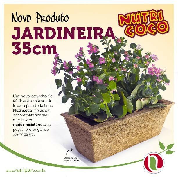 Jardineira 35 cm - Fibra de Coco Nutricoco