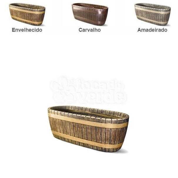 Vaso Redondo Alto Tina N80 - 80x53,7 cm - 138 Litros