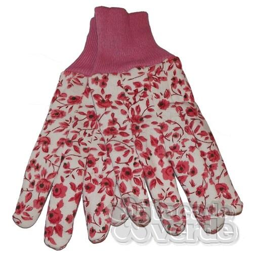 Luva Jardinagem Dura Plus - Pink