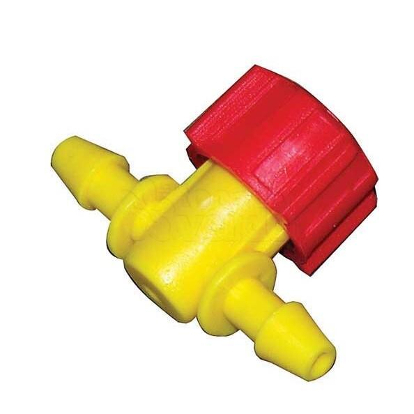 Válvula plástica 4/7mm - 5 unidades - 1311 - Elgo