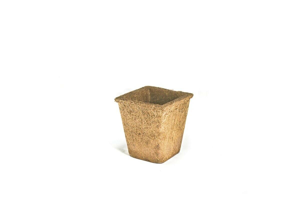 Vaso Fibra de Coco Trapézio - 1,5 L - Médio - Nutricoco