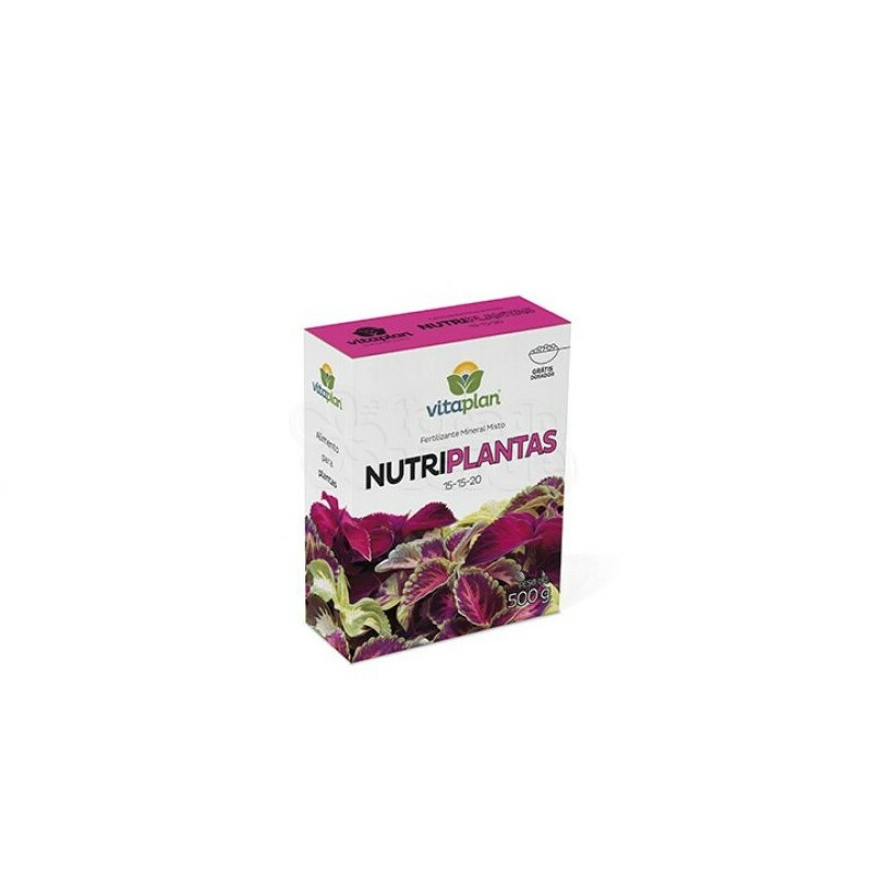 Nutriplantas - 500g - (NPK 15-15-20)