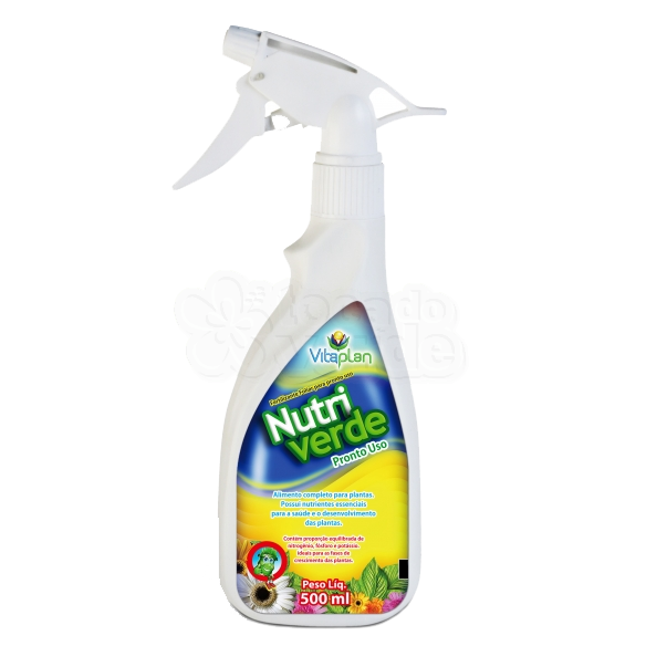 Fertilizante Nutriverde Pronto Uso 500 ml - Vitaplan