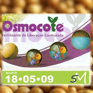 Osmocote MiniPrill 18-05-09 (5-6 Meses) - 3 Kg