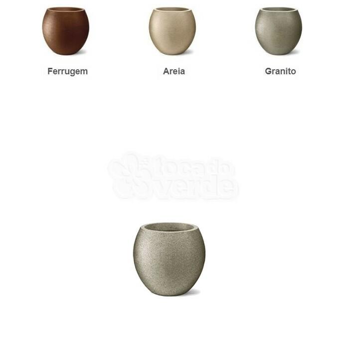 Vaso Oval Grafiato N26 - 26x23 cm - 12 Litros