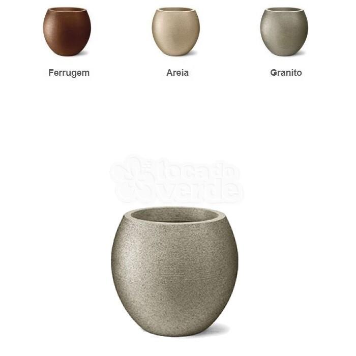 Vaso Oval Grafiato N42 - 42x37 cm - 53,5 Litros