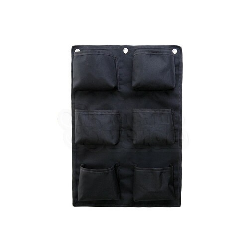 Painel Jardim Vertical - Poliéster - 6 bolsos - V6