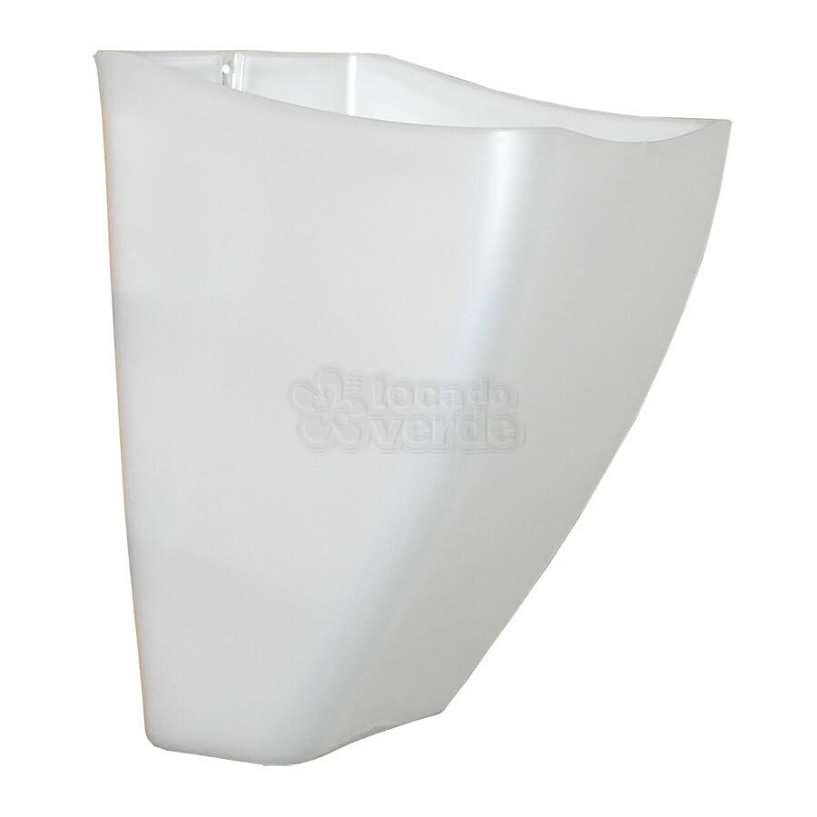 Cachepô de Parede PlastFit - Branco Perolado