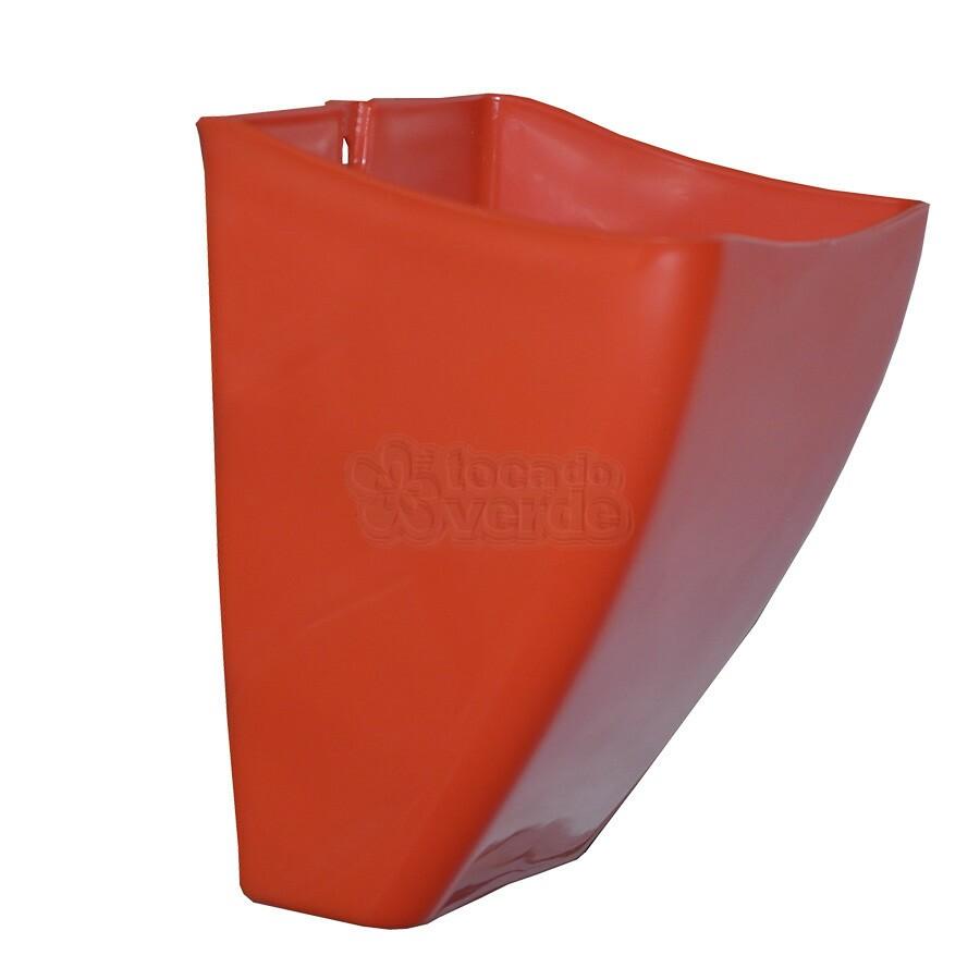 Cachepô de Parede PlastFit - Vermelho