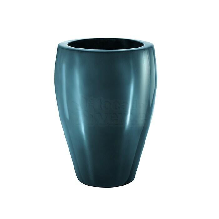 Vaso redondo alto padrão alto brilho