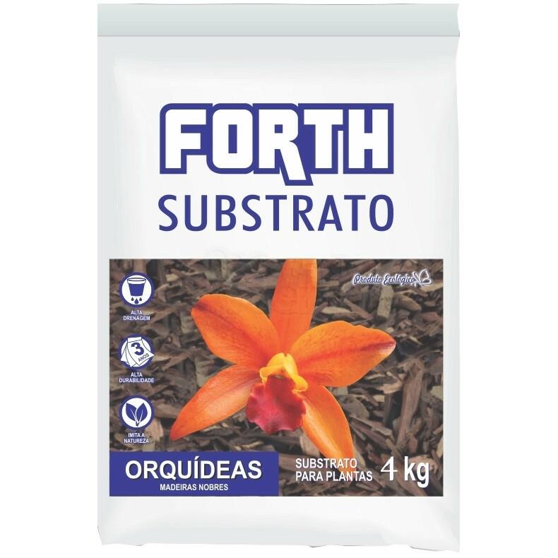 Forth Substrato para Orquídeas Madeiras Nobre - 4 kg